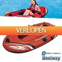 Pricestunter.nl: Bestway Hydro Force opblaasboot
