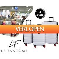 1DayFly Lifestyle: 3-delige kofferset van Le Fantome