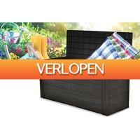 VoucherVandaag.nl 2: Tuin opbergbox houtlook