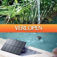 Dealbanana.com: Fontein op zonne-energie