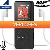 Uitbieden.nl 2: AGPTEK A20BS MP3 speler