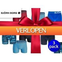 DealDonkey.com: 3-pack Bjorn Borg herenboxers verrassingspakket