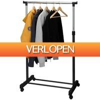 Stuntwinkel.nl: Verstelbaar kledingrek