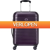 Coolblue.nl 3: Delsey Segur Cabin Size Trolley 55cm Lila