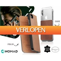 1DayFly Tech: Nomad leren iphone cases