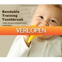 Gadgetsgift.nl: Banaan tandenborstel/bijtring