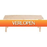 Xenos.nl: Bankje teak
