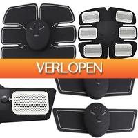 Uitbieden.nl 2: Elektrische 3-delige EMS sixpack & spierstimulator
