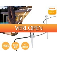 1DayFly Outdoor: Osram lightify LED gardenspots
