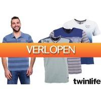 VoucherVandaag.nl: Twinlife heren T-shirts
