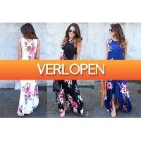 VoucherVandaag.nl 2: Flower maxi jurk