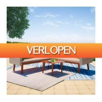 VidaXL.nl: 13-delige loungeset