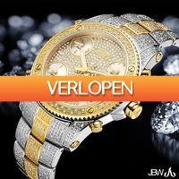 Watch2Day.nl 2: JBW Jet Setter Diamonds XXL Swiss Quartz