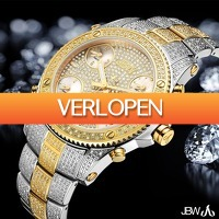 Watch2day.nl: JBW Jet Setter Diamonds XXL Swiss Quartz
