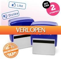 voorHAAR.nl: Like en Dislike stempel