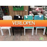 Warentuin.nl: 4 x Charleen Diningstoel metalen frame