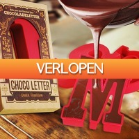 MegaGadgets: Chocoladeletter siliconen mal