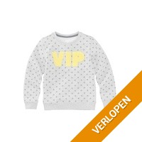 HEMA kindersweater (grijsmelange)