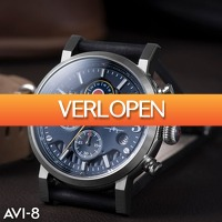 Watch2day.nl: AVI-8 Hurricane Spinning Roundel Edition