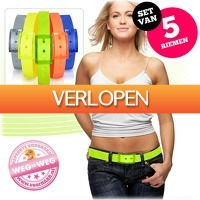 voorHAAR.nl: 5 kleurrijke plastic riemen