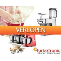 1DayFly Sale: TurboTronic keukenmachines