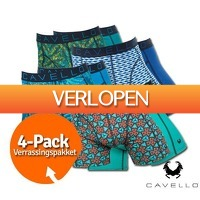 1dagactie.nl: 4-pack Cavello boxershorts