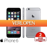 Telegraaf Aanbiedingen: Apple iPhone 6 16 GB refurbished