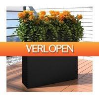 VidaXL.nl: vidaXL plantenbakken set rattan