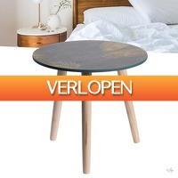Wilpe.com - Home & Living: Homestyle houten bijzettafel