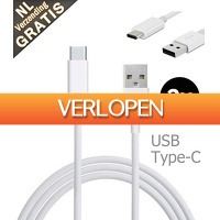 Mob-Com: 2 x Type C USB-kabel