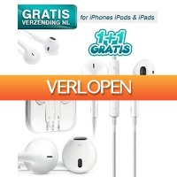 KoopjeNU: 2 x earpods voor iPhone/iPod/iPad
