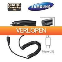 KoopjeNU: Samsung Micro USB autolader