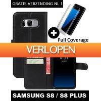 KoopjeNU: Wallet case met screenprotector voor Samsung