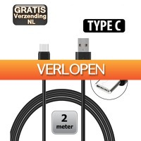 KoopjeNU: USB Type-C kabel 2 meter