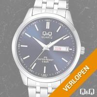 Q&Q Edelstalen horloges