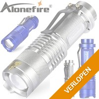 Waterdichte Alonefire XPE LED zaklamp
