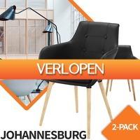 Euroknaller.nl: Johannesburg Design eetkamerstoelen