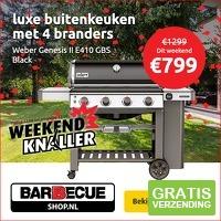 Weber Genesis II E410 GBS Black Buitenkeuken