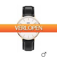 Dailywatchclub.nl: Daniel Wellington Classic Sheffield horloge