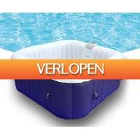 Groupdeal 2: AquaParx spa jacuzzi AP600 Blue Edition