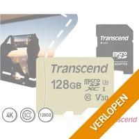 Transcend 128GB class 10 UHS-3 microSD