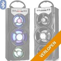 Draagbare Boombox Bluetooth speaker