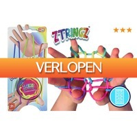 MargeDeals.nl: 5 x Ztringz regenboog touw