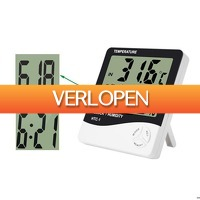 Dennisdeal.com: LCD digitale thermometer / hygrometer