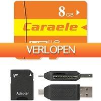 Uitbieden.nl 2: Caraele XC Class 10 Micro SD-kaart 8GB