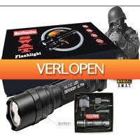 Uitbieden.nl 2: Waterdichte Police Series SWAT LED zaklamp