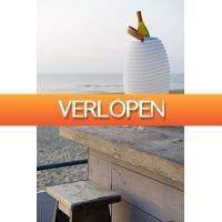 Grotekadoshop.nl: Kooduu speaker + lamp + wijnkoeler