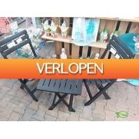 Warentuin.nl: Setje tafeltje en 2 stoelen