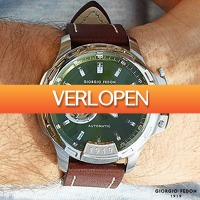 Watch2day.nl: Giorgio Fedon 1919 Timeless IV Automatics