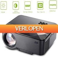Uitbieden.nl 2: HD 3D 1500 Lumens LCD projector met HDMI